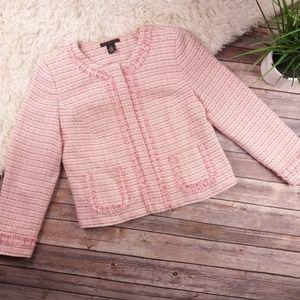 🎀Apostrophe pink tweed blazer🎀A1